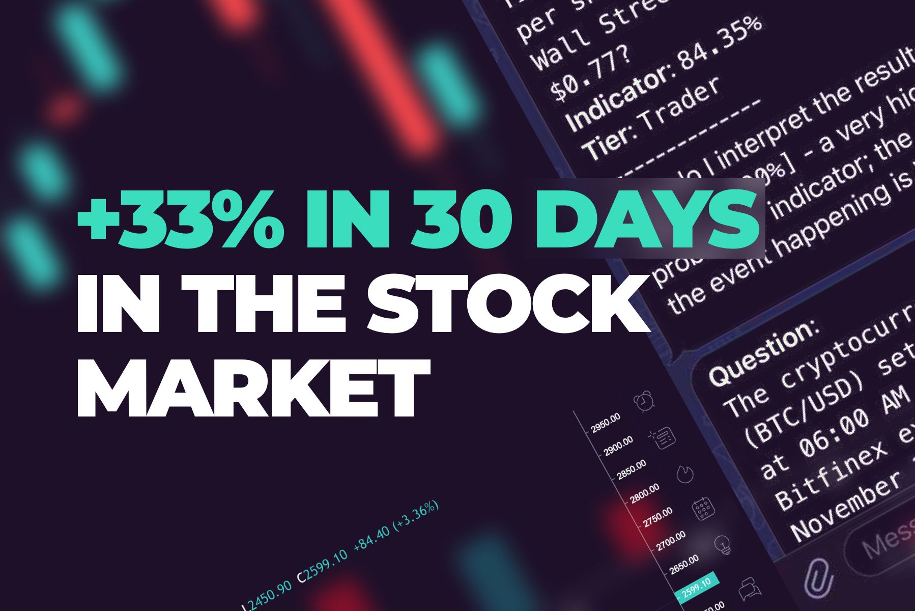 Cindicator: How a Crypto Tool Helped Me Make 33% in 30 days in the Stock Market