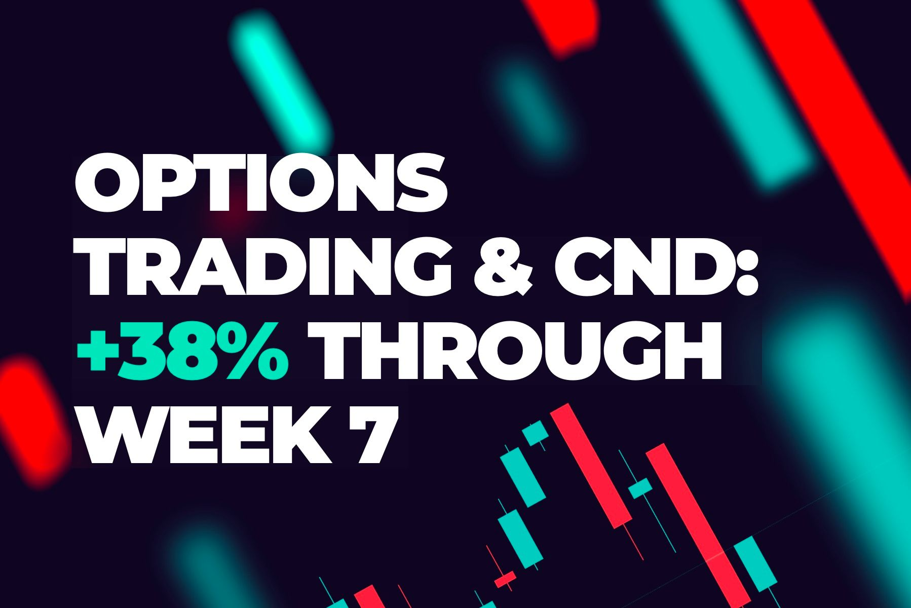 1st Qtr 2019:  Options trading with CND, +38% thru week 7