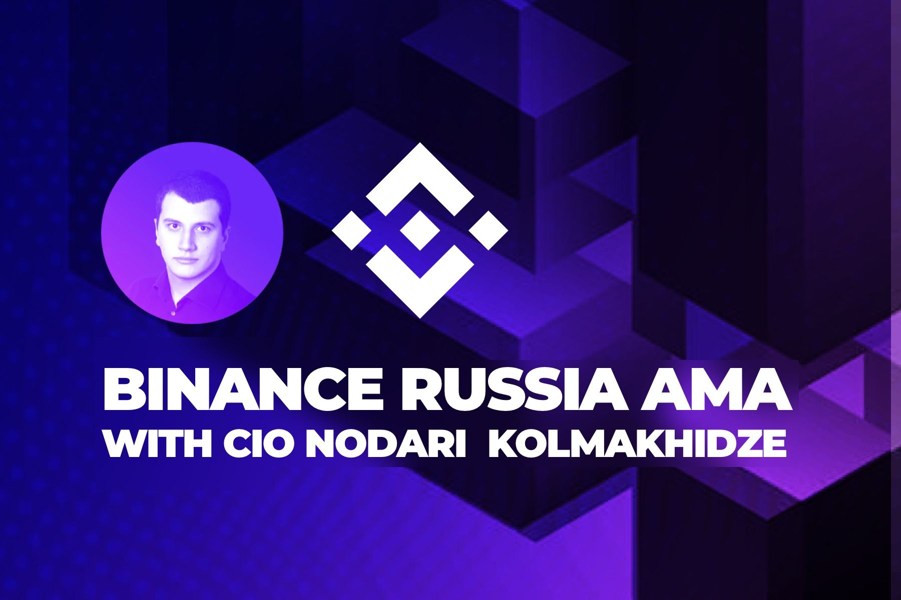 Binance Russia AMA with Cindicator CIO Nodari Kolmakhidze